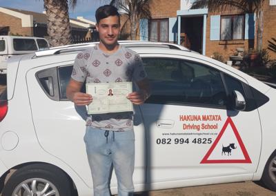 Hakuna Matata Driving School Student